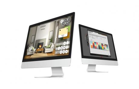 Colorjinn - Virtual Painter Web Application Sample 1