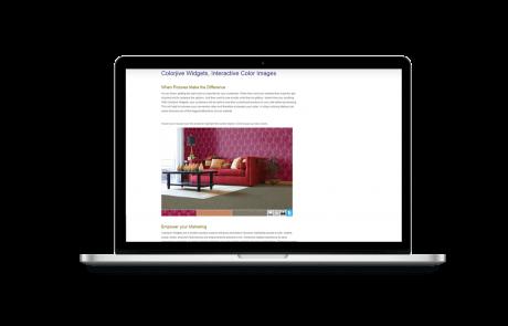 Colorjinn - Virtual Painter Web Application Sample 2