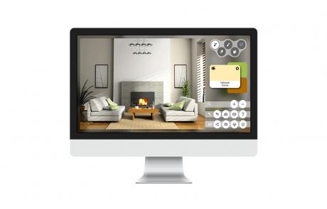 Colorjinn - Virtual Painter Web Application Sample 3