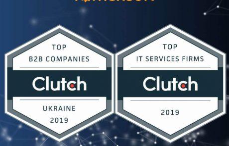 Top Ukrainian B2B Company by Clutch