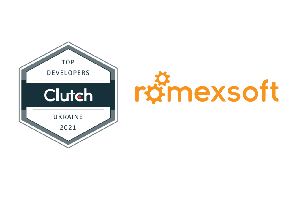 Clutch Top Development & IT Companies in Ukraine for 2021 Romexsoft Badge